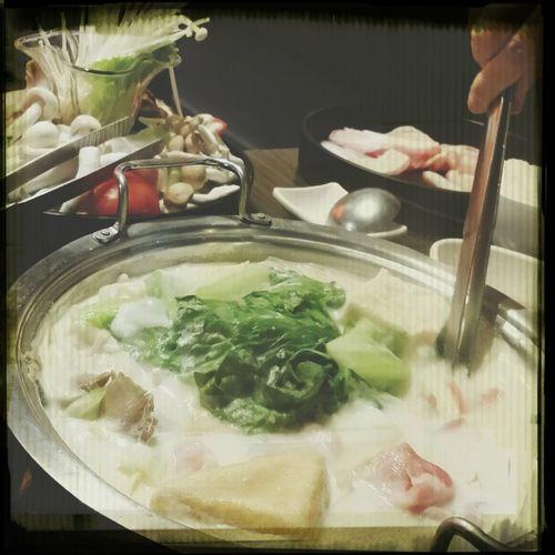 金瓜奶香鍋 Food