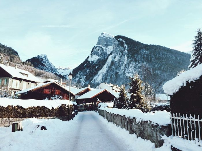 Winter ❄️ Winter Mountain Alps