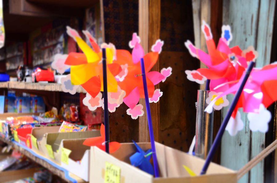 Multi Colored Colorful Kamakura Kazaguruma Japanese Culture Japan Dagashiya Nofilter#noedit No People Variation Colors Store Nofilter Nikon D5100  Nikon Tradition Toyphotography Toy