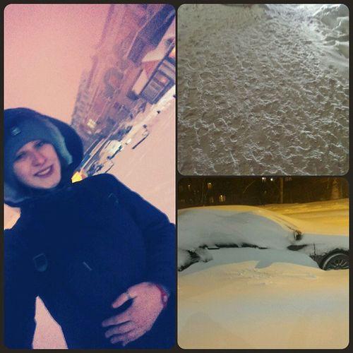 ночной вдк зима блин снег