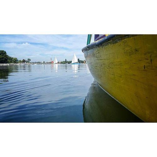 AlteDonau Olddanube River Fluss boat boats sailing sailingboat segelboot segeln water wasser nature natur ;)