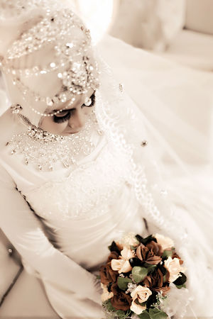 Wedding F & H White Color One Person Portrait Wedding Dress Only Women Flower Bride One Woman Only Wedding Sitting Women One Young Woman Only Adults Only People Indoors  Close-up Pancamedia Aceh, Indonesia Loveaceh Day Praweddingphotography Beautiful Woman Photography Pilotdroneciletcilet Nagroe