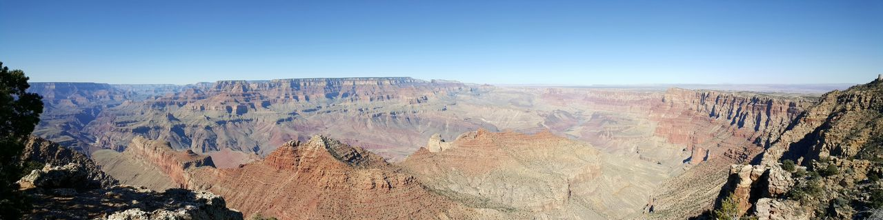 Panaromic View South Rim Grand Canyon Grand Canyon National Park Canyon View Breathtaking View Sunny Day❤ Clear SkyGrand Canyon, Az USA EyeEm Nature Lover EyeEm Gallery S6