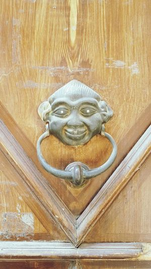 Door Wood Door Knocker Decorative Art Doorknob