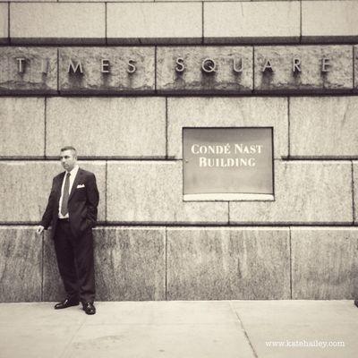 Smoke Break, Conde Nast, NYC. New York Streetphotography Kateontheroad Traveling