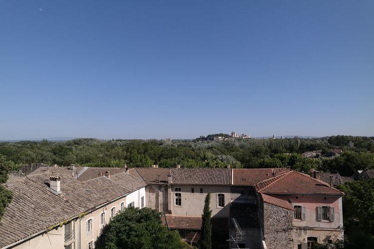Avignon Clear Sky High Angle View Horizon Over Land Landscape Landscape_Collection Perspective Provence Villeneuve-lez-avignon