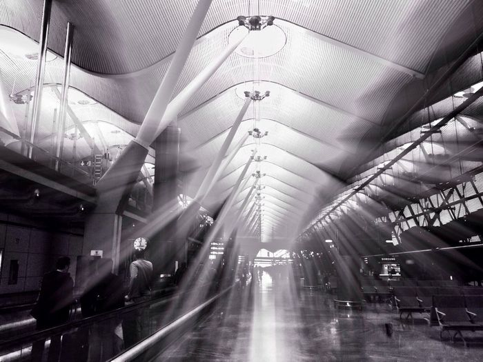 Madrid At The Airport Barajas
