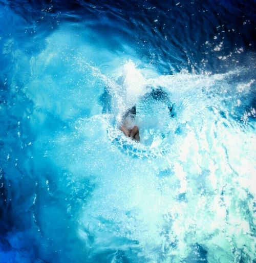 Splash Swimming Pool Summer Having Fun Jump Water_collection Arschbombe Going Down Drowning Capture The Moment
