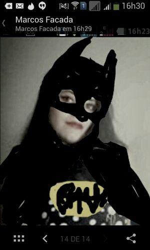 Homenagem de um amigo. Virei o Batman. Gotham Filter Ghotam City Batman ❤