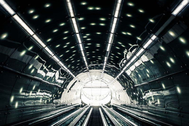 700D Poland Stairs Warsaw Warsaw Poland Warszawa  Architecture Built Structure Canon Canonphotography Contrast Direction Escalator Illuminated Indoors  Lighting Equipment Modern Rail Transportation Technology The Way Forward Transportation