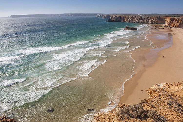 Algarve Beach Cabodesaovicente Picoftheday Portugal Sea Seascape Travel Photography Traveling Travelling