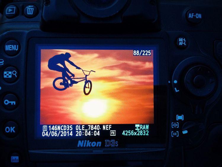 Bmx  Sunset Camera The Moment - 2014 EyeEm Awards