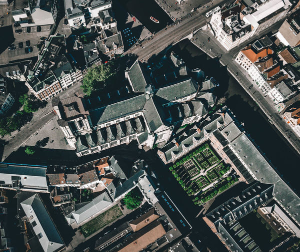 Saint Michael's Church Building Exterior High Angle View Architecture City Built Structure Residential District Roof Cityscape Building Aerial View No People Day Transportation Outdoors Road Full Frame Nature Industry Church Church Architecture