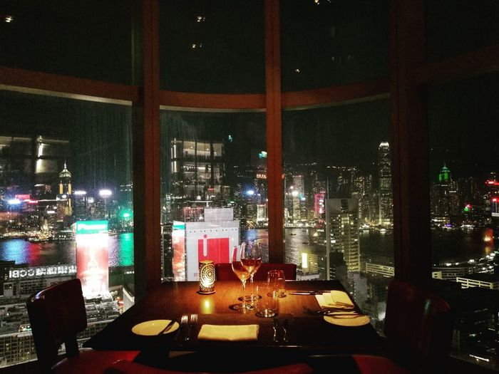 Dinnersetup Dinner Dinner Time Restaurant Restaurant Decor View Dinnerview Restaurantview Unhealthy Eating Building Business Meal Healthy Eating Night Illuminated Indoors  No People Nightlife
