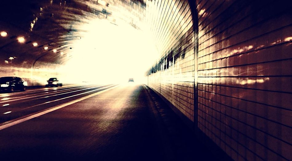 Discover Your City Light Tunnel