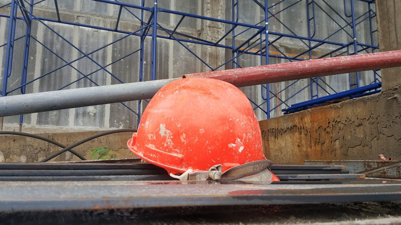 red, day, pipe - tube, no people, outdoors, close-up
