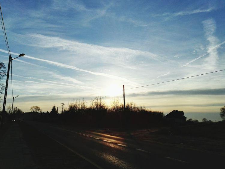 63. Himmel Wolken Heaven Clouds Sonnenuntergang Sunset Sonne