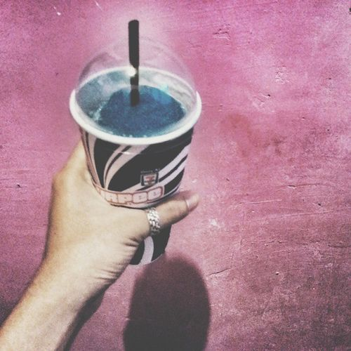 When I am wit you there's no place I'd rather be. 🍦❄⛄ Vscocam Slurpee Seveneleven