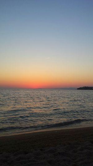 Grecia Greece Summer Sunset Portocarras