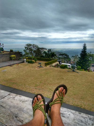 Sandals Clouds And Sky View From Above View Mtsamat Bataan Travelph