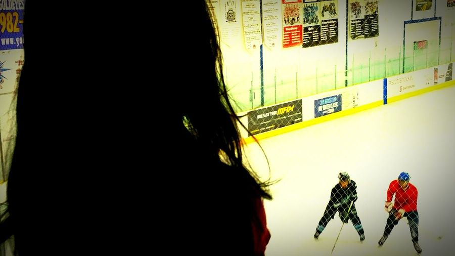 Modern Father Father And Daughter Leadbyexample Sportsmanship Ice Hockey Hockey