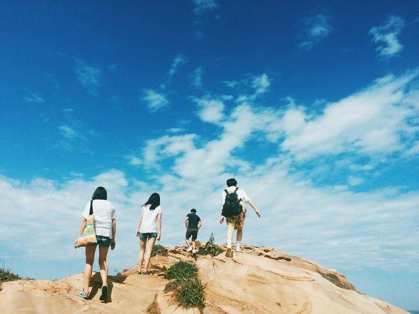 Taiwan Iseetaiwan Climbing Middle Enjoying Life