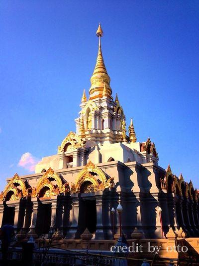 the pagoda on DOI MAE-SALONG ..... CHIANG RAI