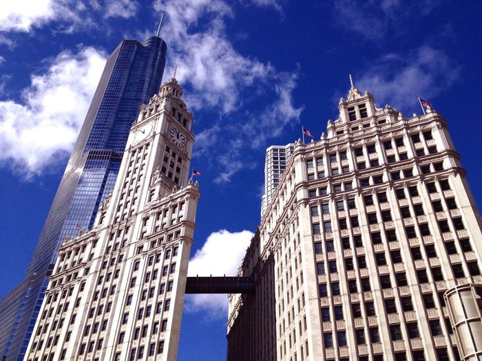 Amazing Architecture Travelling Photography Chicago Sunny Day The Great Outdoors - 2015 EyeEm Awards The Architect - 2014 EyeEm Awards Cityscapes Downtown Chicago Chicago Architecture Chicagoshots