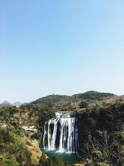 贵州黄果树瀑布。很喜欢我的家乡