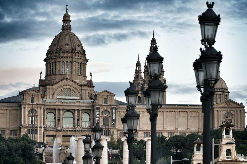 Barcelona Urban Geometry Hello World Cityscapes
