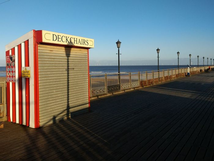 Oh we do like to be beside the seaside...