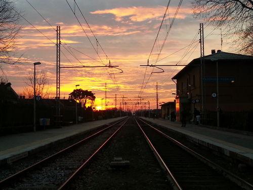 Sunset Trainway