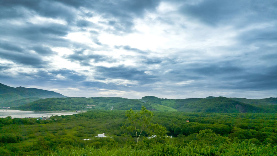 10.07.2019 Tea Crop Tree Mountain Agriculture Rural Scene Field Sky Grass Landscape Cloud - Sky Agricultural Field Greenery Foreground Scenic View Vegetation Woods Green Cultivated Land Spring Flora Blossoming  Calm Farmland Cumulus Lush Plantation Growing Countryside
