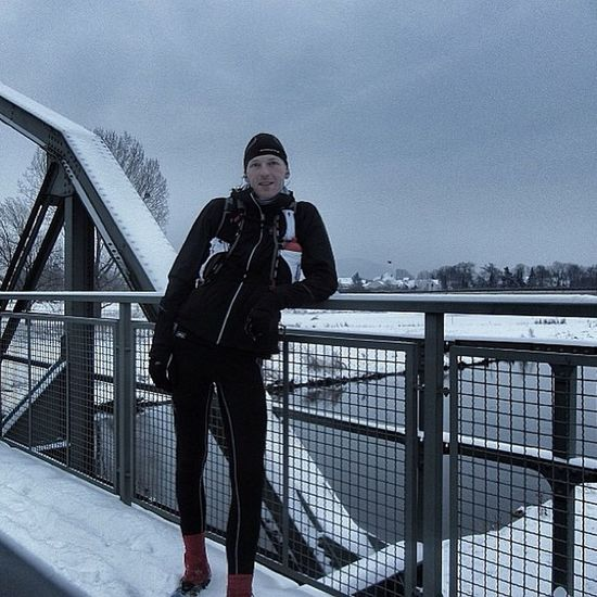 Sklblog Bridge Brücke Gronau Sponser Snow Run Trail Laufen