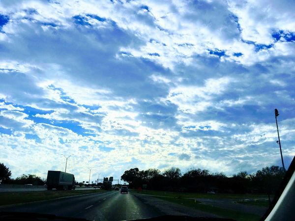 Cloud - Sky Sky Road No People Transportation Day Outdoors Scenics