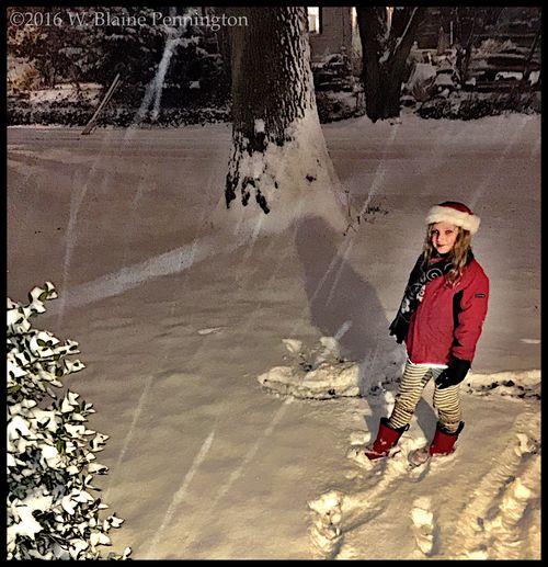 Still coming down hard Snowzilla Epic Snow Snow ❄