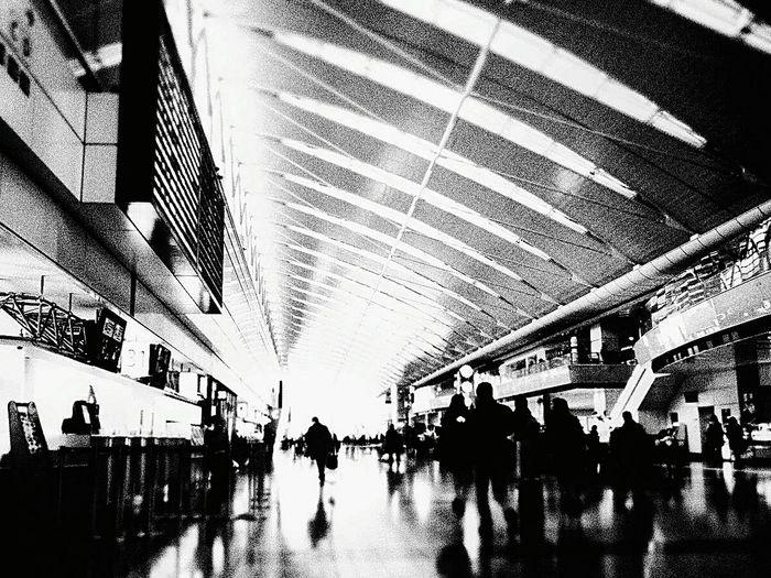 過去pic Airport Black And White Haneda Airport Tokyo Monochrome Airterminal OlympusPEN