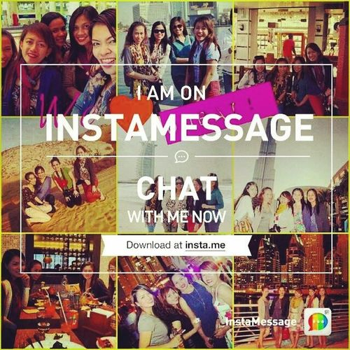 Add me up! :) Instamessage Instachat Chatwithme MakeFriends connect ucancallmemaria