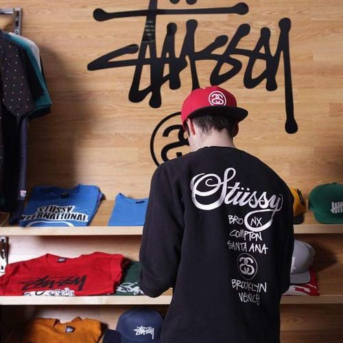 Stussy Stussypoland Magictown Work Blvck  Blackandred Blackandwhite Streetwearlover Streetgoth Swaggerhypeclub Shc Shcelements Magictownteam