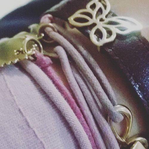 Lilou Pink Dirtypink Braclet Gold Bijoux Bemylilou