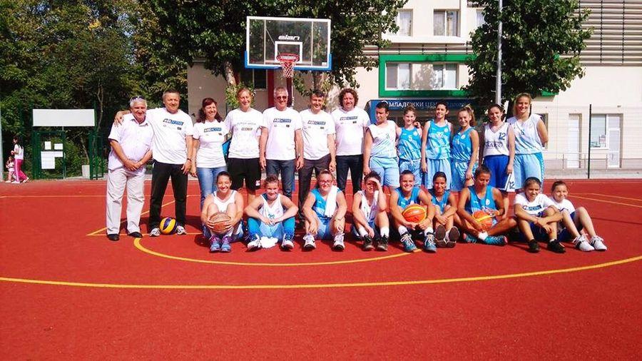 Beactive Basketball Team Friends