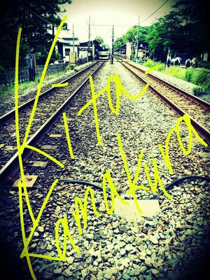 北鎌~♪ Lines Station Train Scribble Taking Photos Holiday