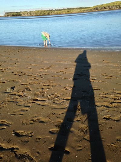 Selfy Light And Shadow IPhoneography Beach