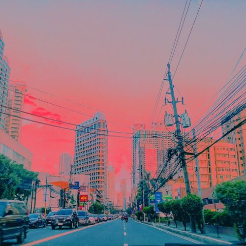 Outdoors Red No People Architecture City Sky Sunset Day Building Exterior Skyscraper Water Nature Pixelated MarkjudelagutanPhotography PhotographyMarkjdeLagutan Streetphotography LeicaPhotographyInternational The Street Photographer - 2017 EyeEm Awards