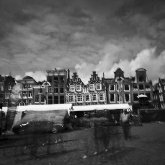 Amsterdam,netherland,holland,black & White, Blur