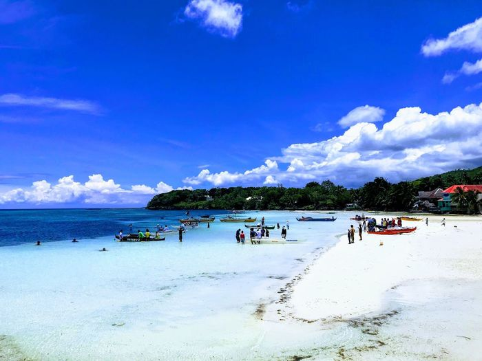 Sky Beach Water