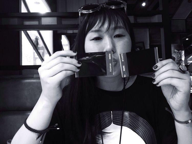 Friend Girl Chinese Girl Blackandwhite Blackandwhite Photography Black & White Black And White Friday