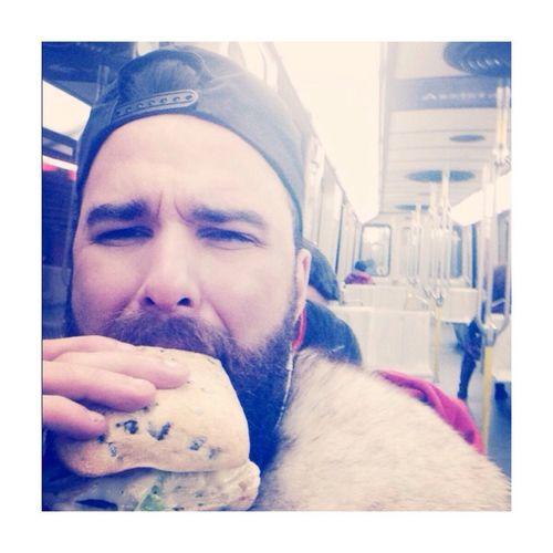 EAT EVERYWHERE. Beard Hi! That's Me Enjoying Life