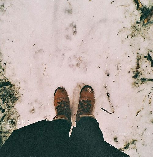 Taking Photos Forest Winter Snow ❄ Wood Boots Check This Out Enjoying Life Photo Picture