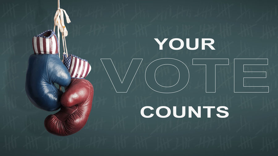 American Flag Boxing Country Democracy Fight Hanging Republican Republican Party USA America Boxing - Sport Boxing Glove Close-up Counter Election Election Day Fighting Flag Gloves Hand Human Hand Indoors  Party Politics And Government Sport Together Togetherness